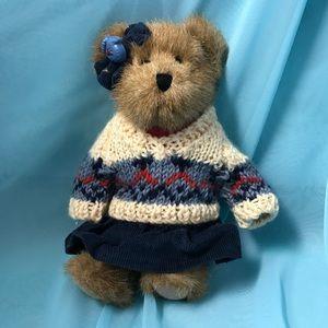 """Boyds Plush Jointed stuffed Bear 8"""""""
